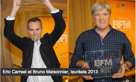 lauréats  bfm awards silver economie