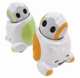 Papero est un robot de compagnie capable de reconnaitre les gens et de discuter avec eux.