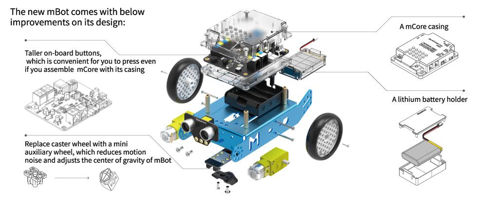 robot éducatif mbot stem