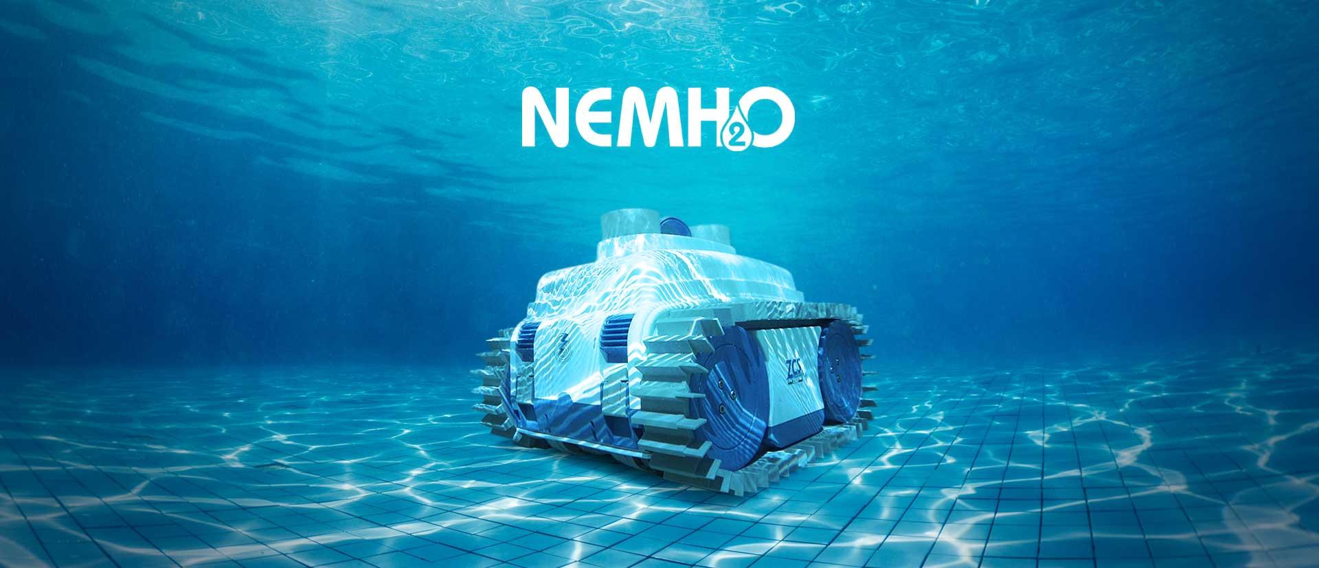 robot de piscine nemh2o classic maxirobots. Black Bedroom Furniture Sets. Home Design Ideas