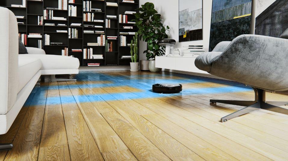robot aspirateur laveur de sol eziclean sweeper animal. Black Bedroom Furniture Sets. Home Design Ideas