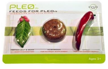 nourriture pour robot pleo pack 2