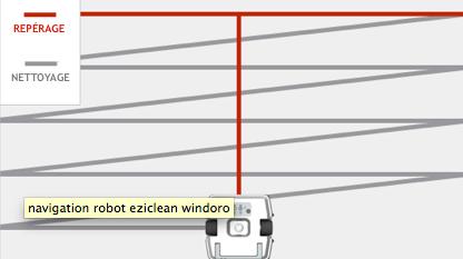 robot lave vitre windoro repérage