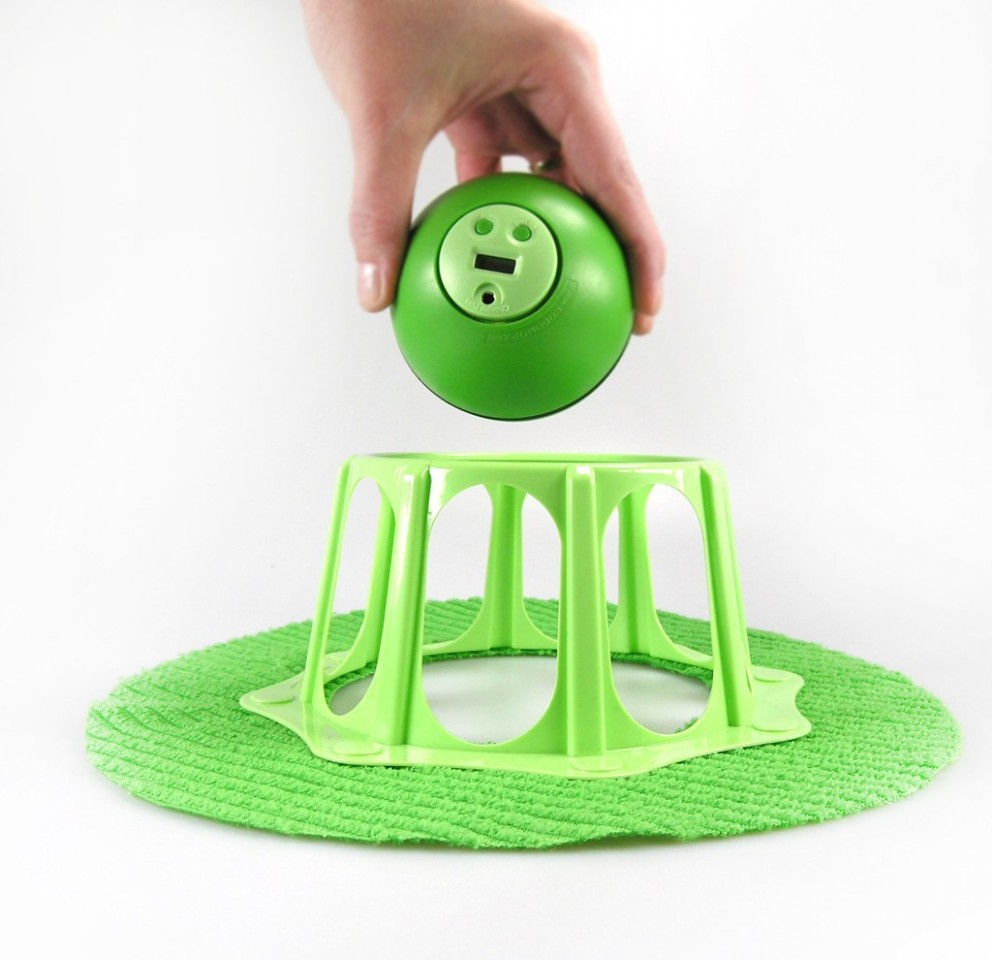 robomop green boule robotique