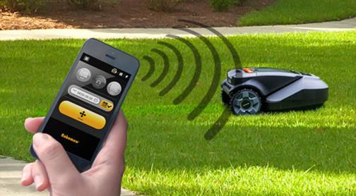 robomow rc 306 smartphone et tablette