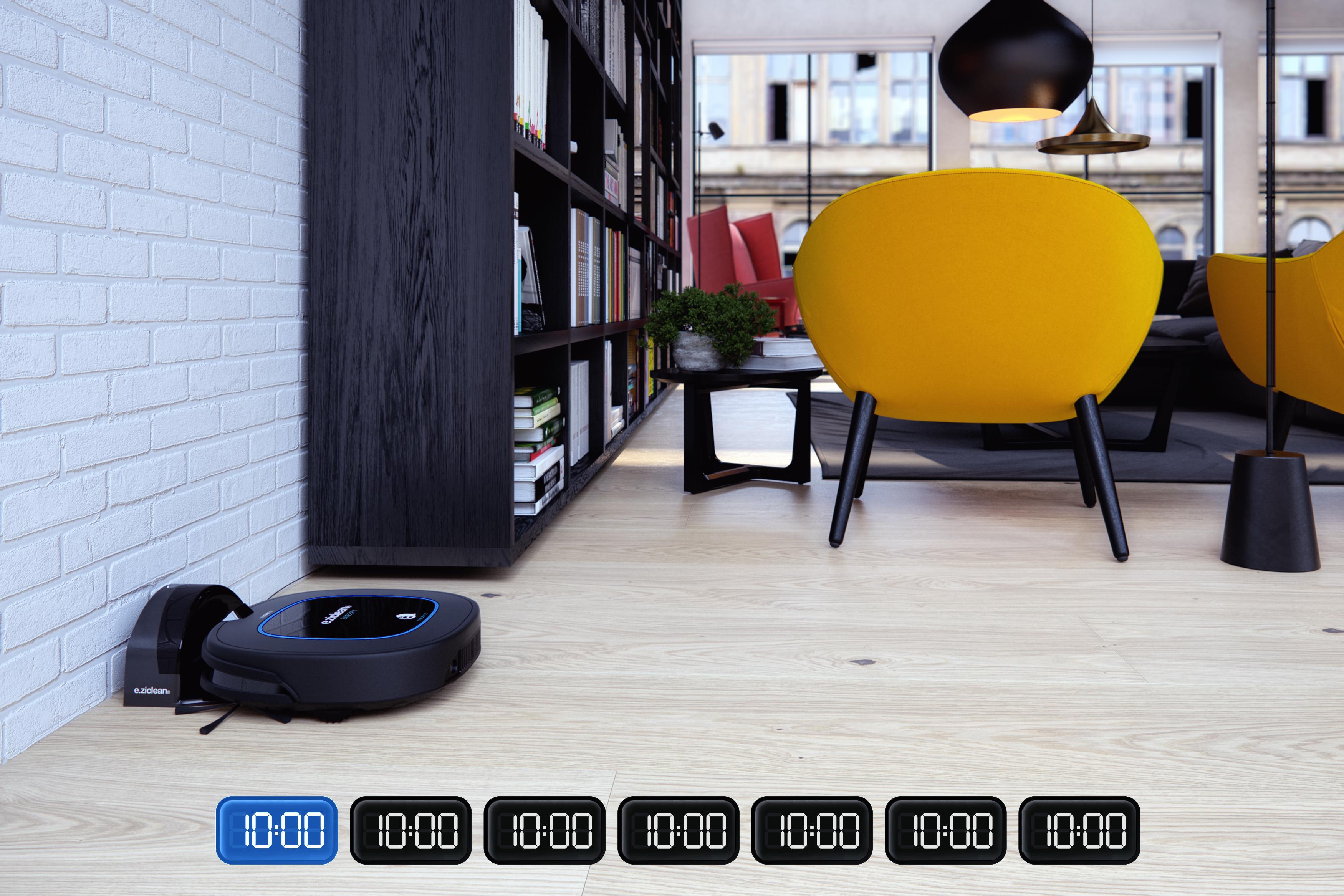 sweepy pets robot programmable 7j/7
