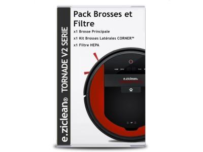 Pack Brosses et Filtre pour TORNADE
