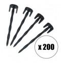 200 clous pour tondeuse Ambrogio et Techline