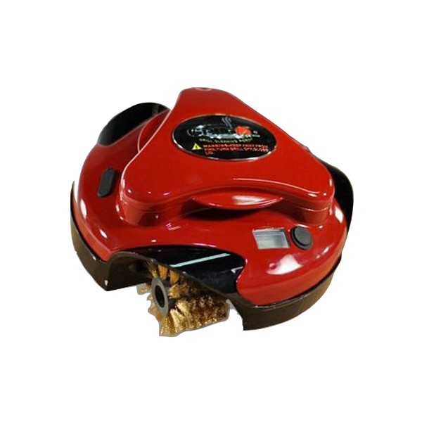 Grillbot rouge robot nettoyeur de barbecue - Nettoyer grille barbecue rouillee ...