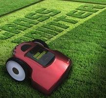 tondeuse grass printer