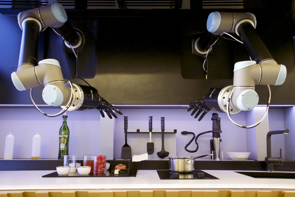 robotic kitchen moley robotics