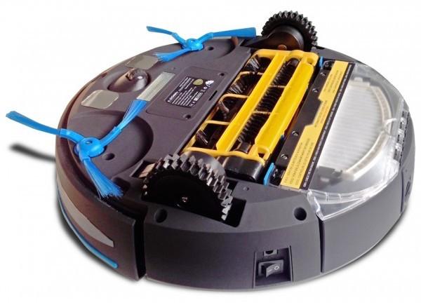 robot aspirateur bot furtiv de dessous