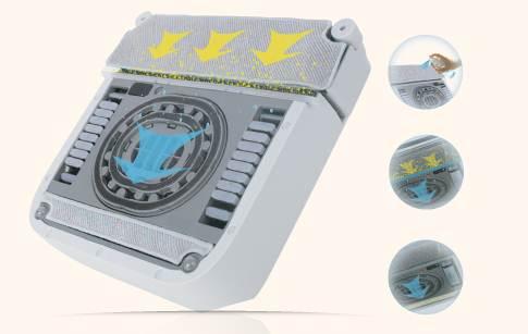 ecovacs winbot 710 fonctionnement