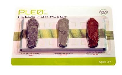 accessoire pierre éducative dinosaure robot Pléo