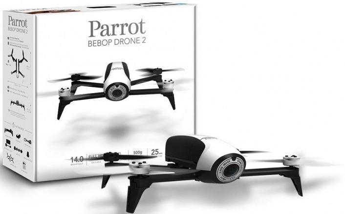 parrot bebop 2 packaging