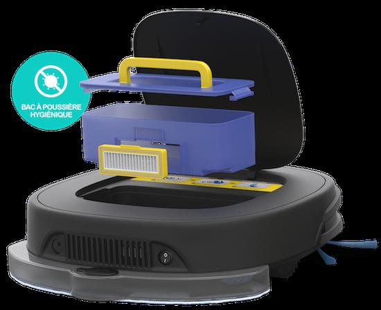Robot serpillère et aspirateur