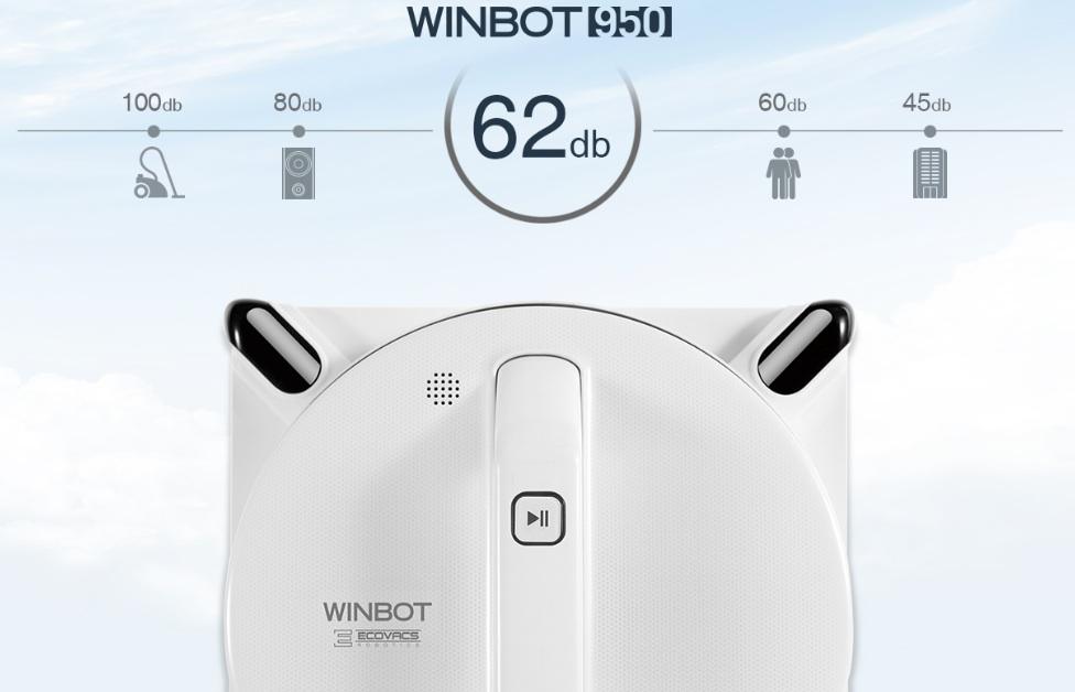 ecovacs winbot 950 robot lave vitre. Black Bedroom Furniture Sets. Home Design Ideas